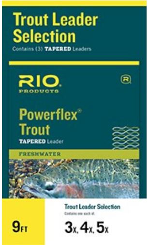 Powerflex Trout 9 FT - Kit com 3 unidades 3x 4x 5x
