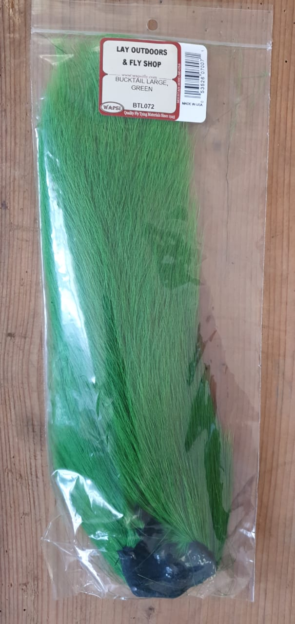 BuckTail Large Verde
